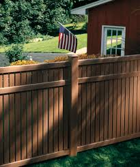 Bufftech Imperial Select Cedar Simi Private Vinyl Fence Liw Rail And Fence Llc