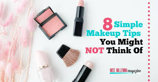 8 simple makeup tips you might not think of