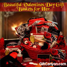 beautiful valentines day gift baskets