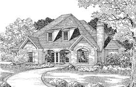 dove creek country french home plan s