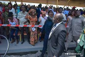 Bawumia Commissions Nana's Promise To The Ghana Immigration Service