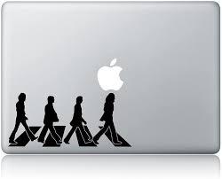 Amazon Com The Beatles Abbey Road Laptop Macbook Sticker Decal Vinyl Sticker Apple Mac Air Pro Laptop Sticker Kitchen Dining