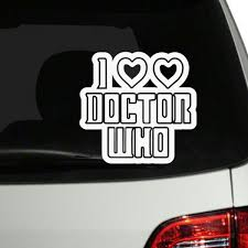 Doctor Who Car Window Decal Sticker For Sale In Lucan Dublin From Smartmugs4u