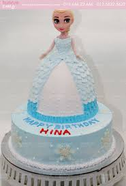 Bánh gato sinh nhật công chú búp bê Elsa 4139 - Bánh sinh nhật, kỷ niệm