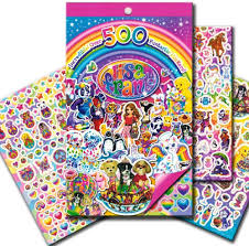 Amazon Com Lisa Frank Stickers Over 500 Stickers Office Products