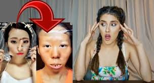 korean makeup transformation