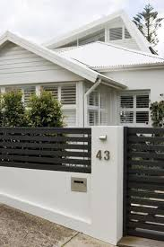 Popular Front Yard Fence Ideas 33 Modern Fence Design Modern Front Yard House Entrance