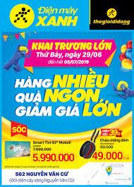 Khai trương Siêu thị Điện máy XANH 562 Nguyễn Văn Cừ, Hà Nội