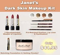 dark skin makeup kit janet s closet