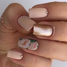 Rose Gold Floral Decal Nails Pictures Photos And Images For Facebook Tumblr Pinterest And Twitter