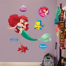 Shop Fathead The Little Mermaid Ariel Wall Decals Overstock 9241503