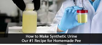 how to make synthetic urine simple