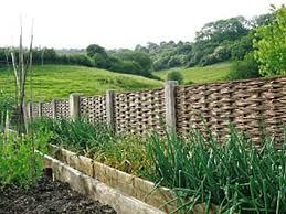 Windbreak Fencing For Garden Near Bath Winterbourne Willows