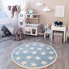 Star Rug Tapete Infantil Round Nordic Cotton Floor Mat Kilim Soft Blue Rugs For Baby Children Kids Bedroom Living Room Decor Rug Aliexpress