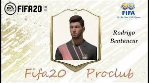 FIFA 20 Rodrigo Bentancur Look alike in Juventus // Fifa20 Pro ...