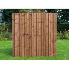 6ft X 5ft 6 Premium Feather Edge Fence Panel Fully Framed Worcester Timber Products