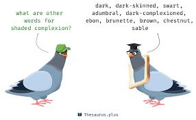 plexioned plexioned synonyms