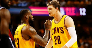 LeBron James Tweets Congratulations To Timofey Mozgov On Deal With Lakers