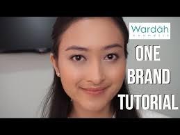one brand tutorial wardah makeup