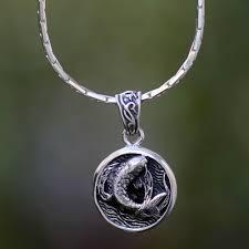 men s sterling silver pendant necklace