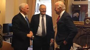 Three vice presidents at the Senate on Wednesday - CNNPolitics