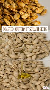 roasted ernut squash seeds with
