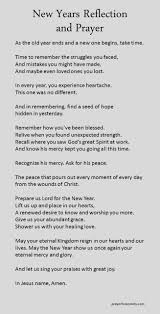 new years reflection and prayer new years prayer quotes about