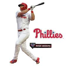 Rhys Hoskins Philadelphia Phillies Fathead 3 Pack Life Size Removable Wall Decal Walmart Com Walmart Com