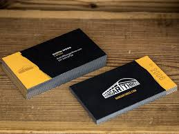 Hangar Three Business Card by Dustin Wood on Dribbble