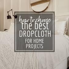 drop cloth canvas for home decor