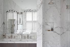 venetian mirrors on bathroom mirror