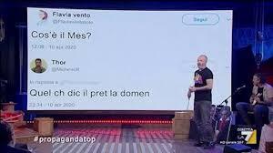 Propaganda Live, Flavia Vento chiede su Twitter che cos'è il Mes: le  risposte degli utenti