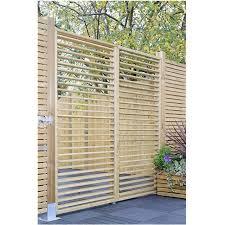 6ft High 1800mm Grange Adjustable Slat Garden Screen Fencing Packs Pressure Treated Garden Screening Wooden Garden Fence Design