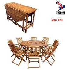 chairs wood folding patio garden