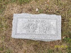 Ada Mabey Bailey (1908-1934) - Find A Grave Memorial
