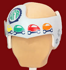 Just Fixing My Flat Tire Baby Boy Cranial Band Decal Decoration Babbleworthy