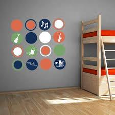 Music Polka Dot Wall Decal Set Wall Decal World