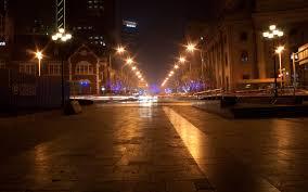 wallpaper boulevard lights night