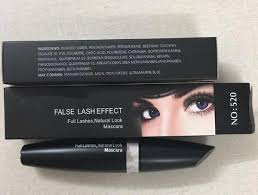 makeup eyes false lash effect