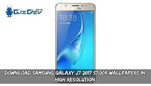 samsung galaxy j7 2017 stock