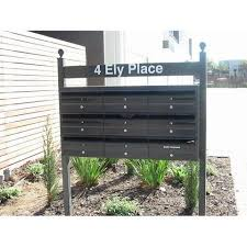 Front Opening Post Mounted Aussie Clotheslines Letterboxes