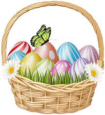 Image result for easter basket clipart