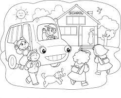 Tuyển chọn 50 bức tranh tô màu trường mầm non quen thuộc cho bé - Zicxa  books