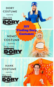 diy finding dory costumes for