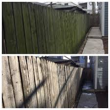 First Time Power Washing A 60 Year Old Fence Powerwashingporn