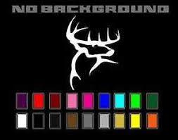Buck Commander Whitetail Deer Decal Sticker Vinyl Car Truck Window Wall Decor Ebay
