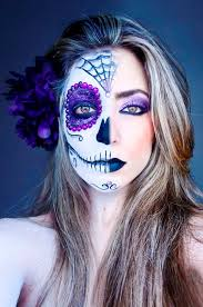 30 amazing halloween half face makeup