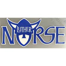 Norsehead In Norse Decal Luther Book Shop