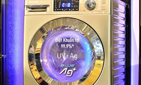 Công nghệ diệt khuẩn BlueAg của máy giặt Panasonic giúp diệt khuẩn ...