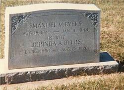 Dorinda Adeline Stewart Byers (1850-1926) - Find A Grave Memorial